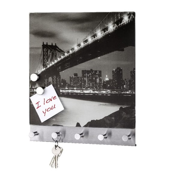 Magnetyczny wieszak na płaszcze Manhattan Bridge