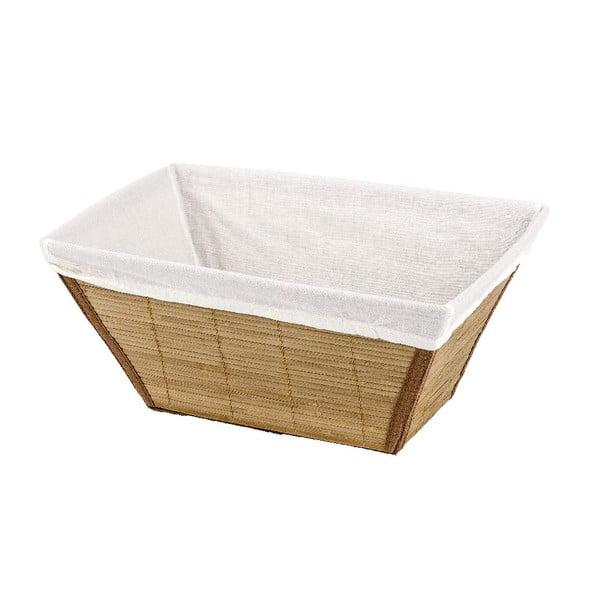 Naturalny koszyk Wenko Bamboo, 21x31 cm
