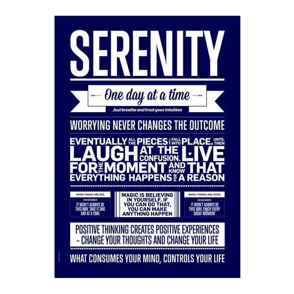 Plakat autorski Serenity Marine, 50x70 cm
