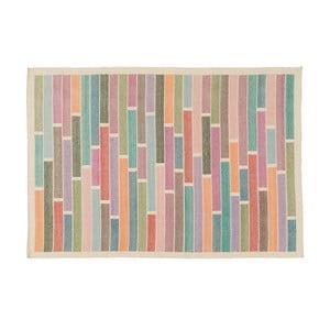 Wełniany dywan Rubina White, 140x200 cm