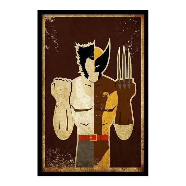 Plakat Brown Hero, 35x30 cm