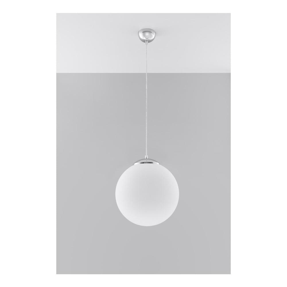 Biała lampa wisząca Nice Lamps Bianco 30