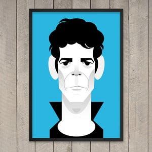 "Plakat ""Lou Reed"", 29,7x42 cm"
