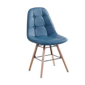 Krzesło Patty, niebieskie