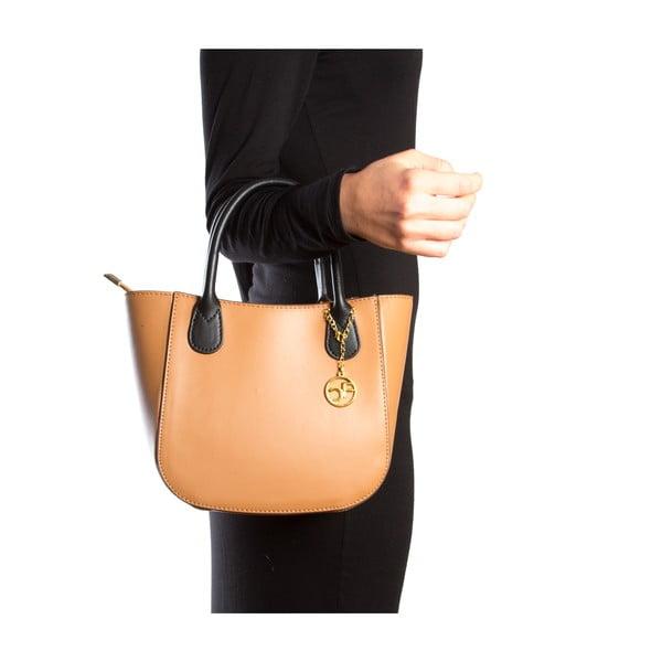 Skórzana torebka Coci, koniak
