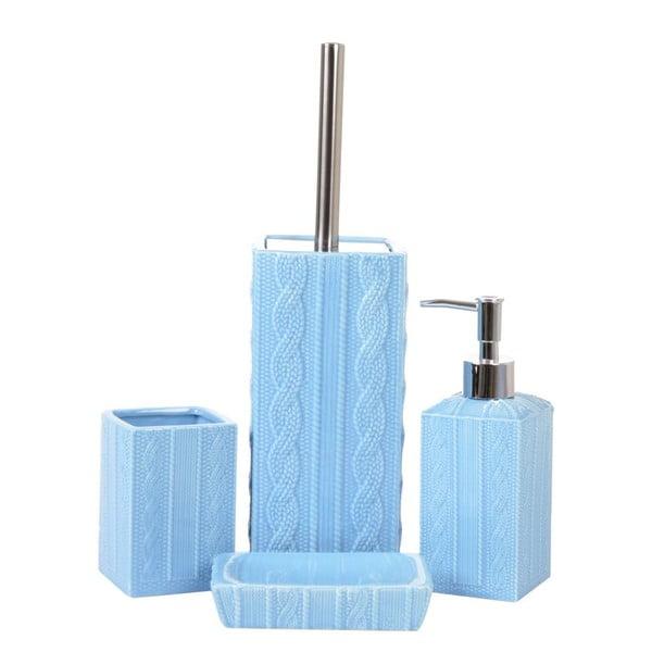 Zestaw łazienkowy Ornament Blue