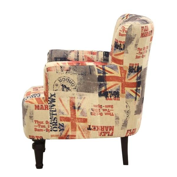 Fotel Dover Flaga Color