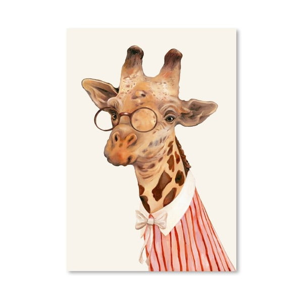 "Plakat ""Ms Giraffe"", 42x60 cm"