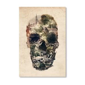 "Plakat autorski ""Skull Town"""