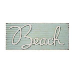 Tabliczka ścienna Beach Met Blu, 71x30 cm