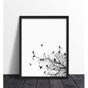 Plakat w ramie Primavera Print, 30x40 cm