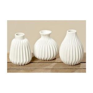 Zestaw 3 wazonów porcelanowych Boltze Esko