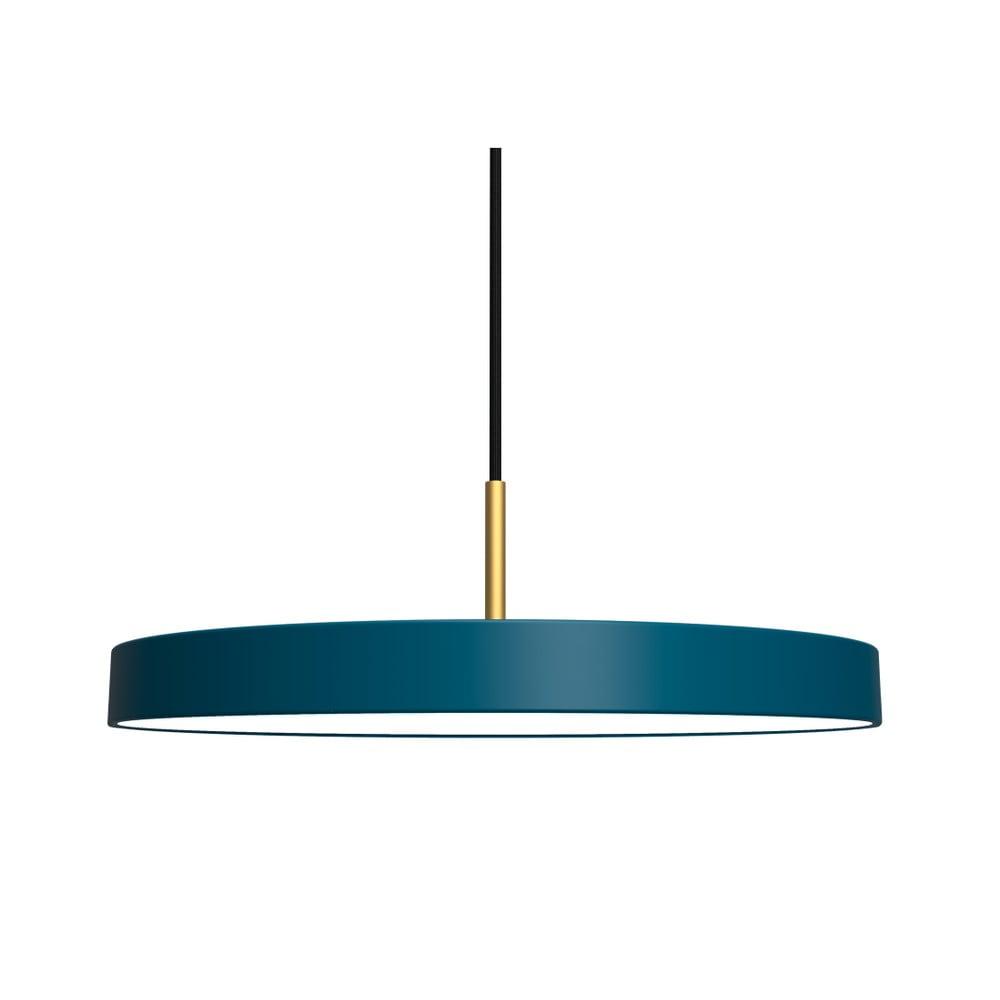 Ciemnoniebieska lampa wisząca VITA Copenhagen Asteria, Ø43cm