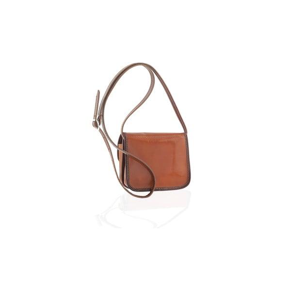 Skórzana torebka Campagna, brown