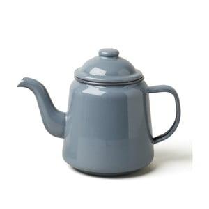 Szary emaliowany dzbanek do herbaty Falcon Enamelware,1l