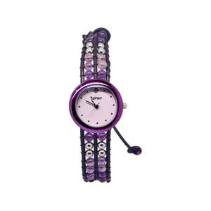 Zegarek z koralikami Classic, Purple Rain