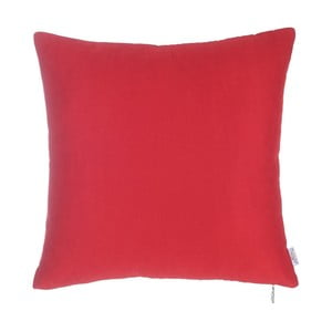 Czerwona poszewka na poduszkę Apolena Simple, 43x43 cm