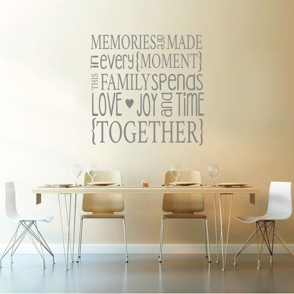 Naklejka Family Memories, 90x60 cm