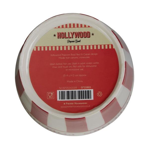 Ceramiczny kubełek na popcorn Premier Housewares Hollywood, 14 cm