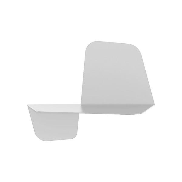 Biała półka ścienna MEME Design Flap, 42cm