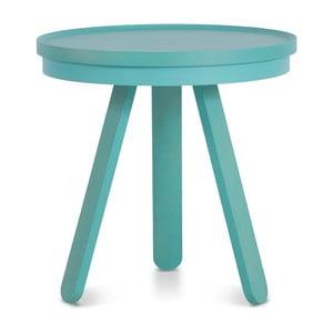 Zielony stolik z tacą Woodendot Batea S