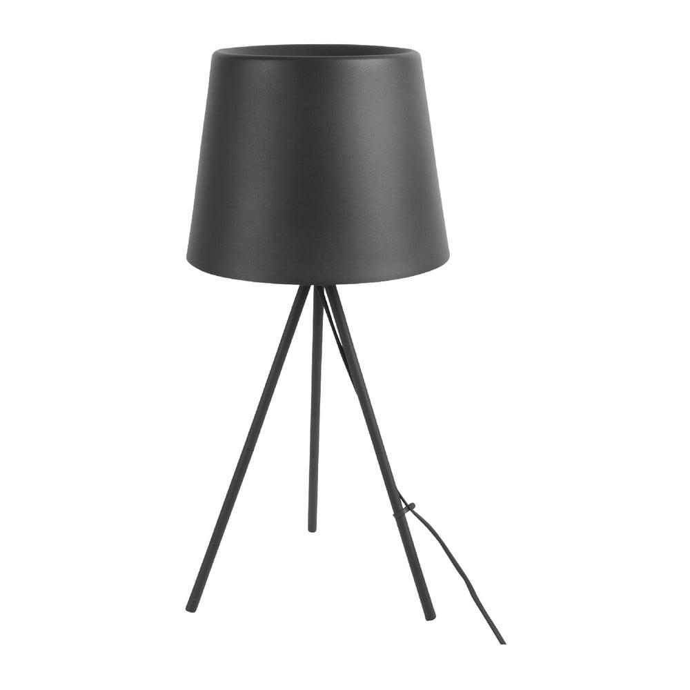 Czarna lampa stołowa Leitmotiv Classy