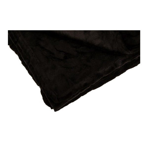 Pled Softy Noir, 125x150 cm