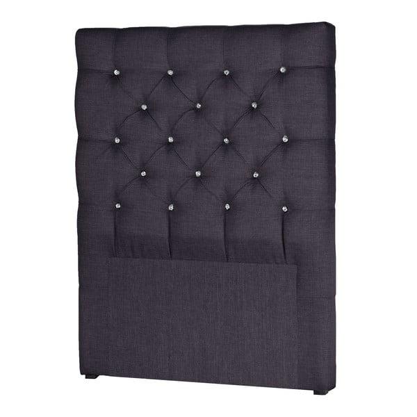 Ciemnoszary zagłówek łóżka Stella Cadente Pegaz, 90x118 cm