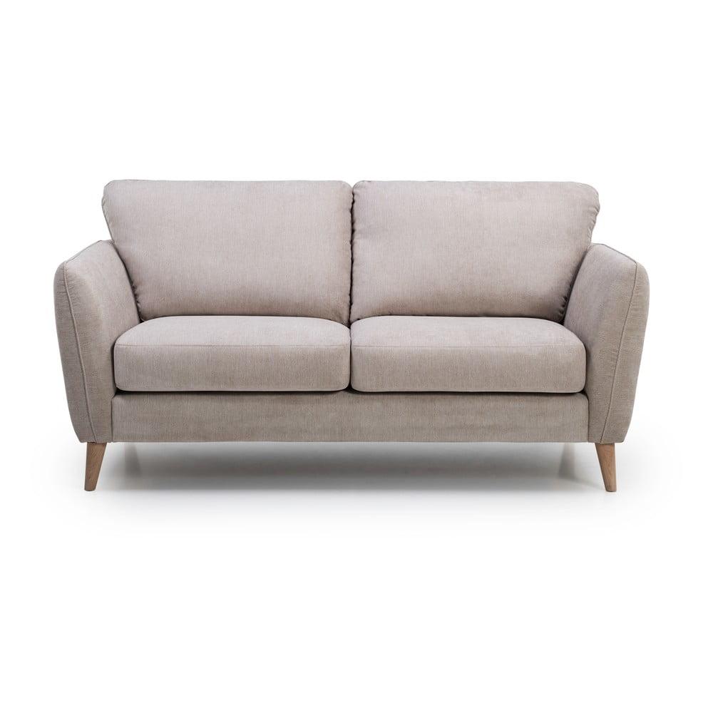 Beżowa sofa 2-osobowa Scandic Vesta
