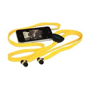 Słuchawki hi-String, żółte