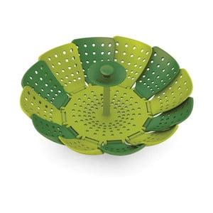 Zielone sitko do gotowania na parze Joseph Joseph Lotus Plus