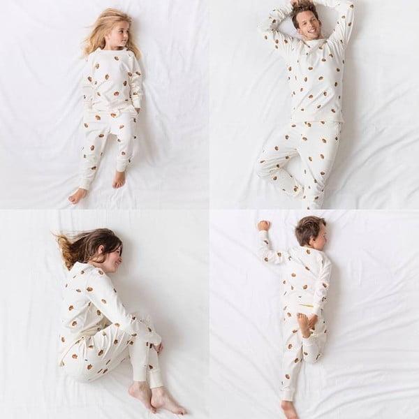 Biała bluza dziewczęca Snurk Winternuts, 116