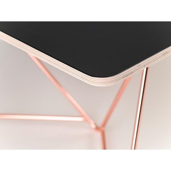 Blat  stolika kawowego Coffee Black, 110x70 cm