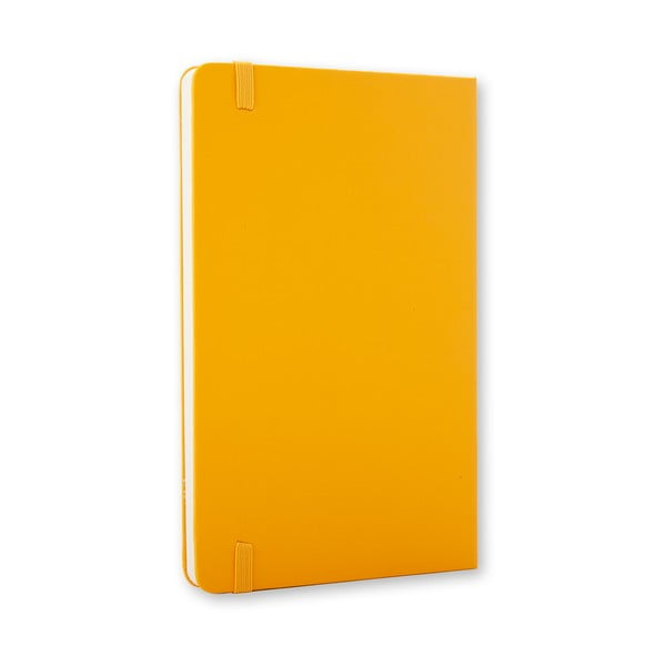 Żółty notes Moleskine Hard, mały