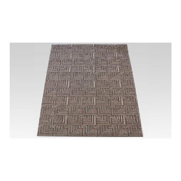Dywan Pinnacle Dark Brown, 167x233 cm