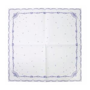 Papierowy obrus Porcelain Blue, 140x140 cm