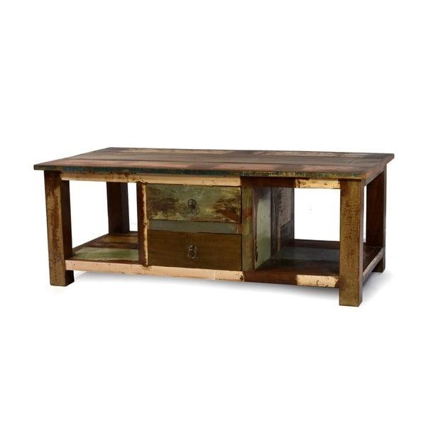 Stolik z teczyny Goa, 120x63 cm