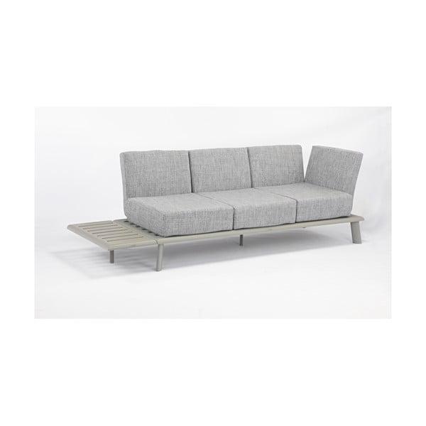 Szara sofa ogrodowa Ezeis Rotonde