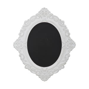 Tablica do pisania w białej ramie Mauro Ferretti Bruxelles,wys. 59cm