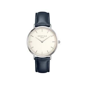 Zegarek damski Rosefield - The Bowery, biały/niebieski/srebrny