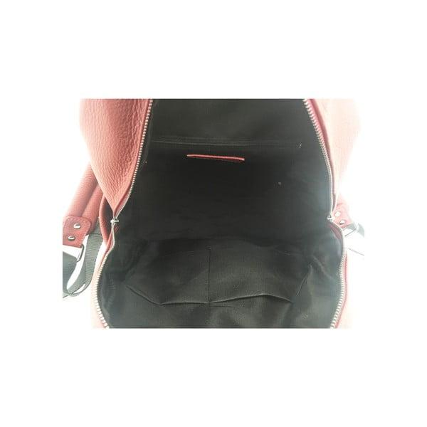 Skórzany plecak Momo Red