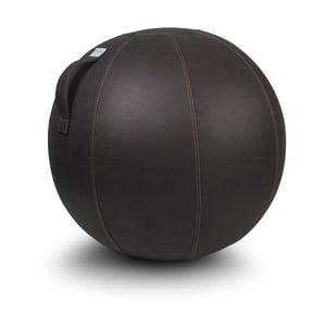 Ciemnobrązowa piłka do siedzenia VLUV, 65 cm