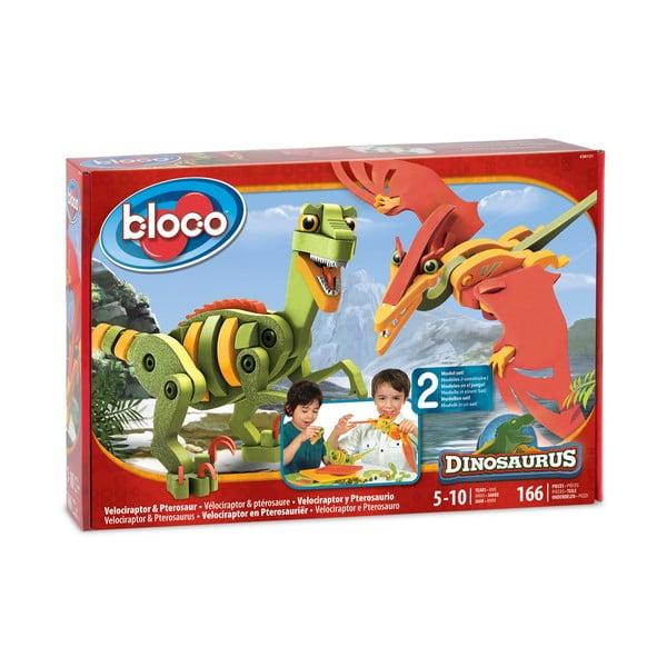 Klocki Velociraptor i Pterosaurus
