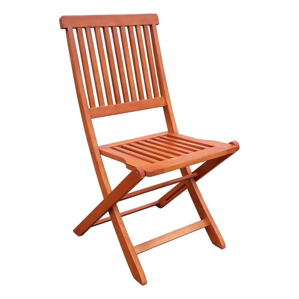 Składane krzesło ogrodowe z drewna eukaliptusowego ADDU Angwin