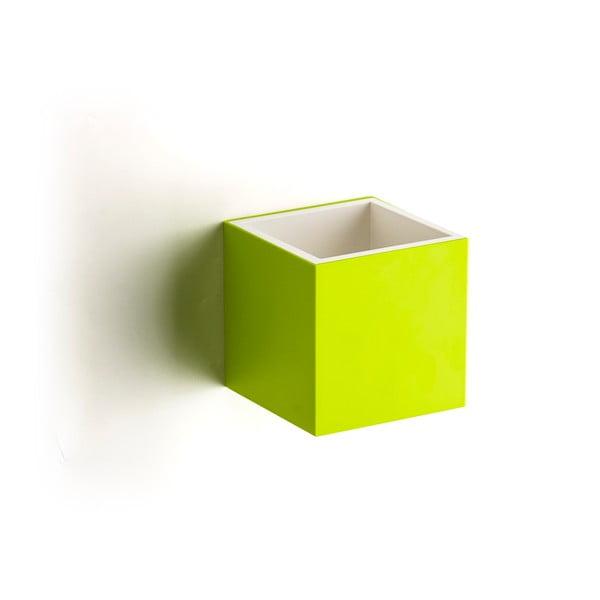 Pudełko naścienne QUALY Pixel Box, zielone