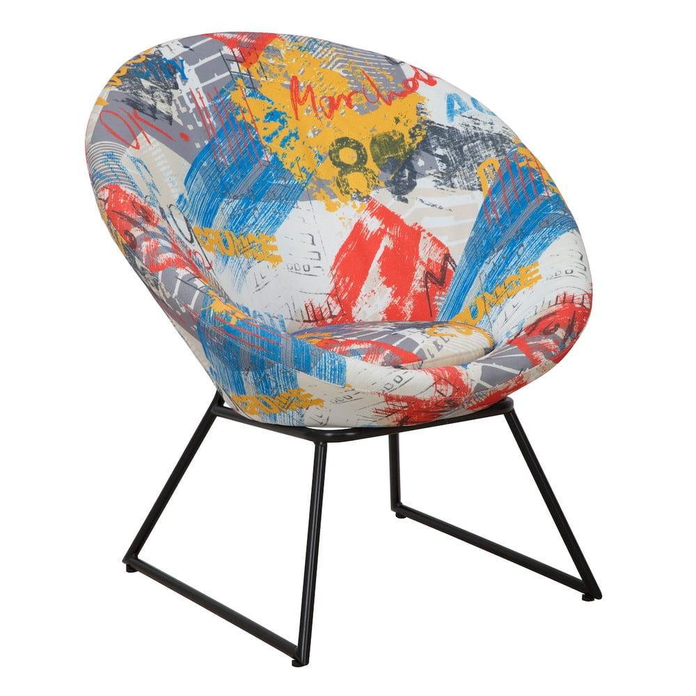Fotel z konstrukcją z drewna sosnowego Mauro Ferretti Times Square Round