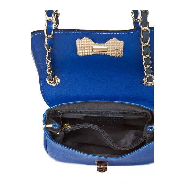 Skórzana torebka Bow Blue