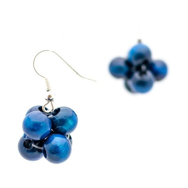 Niebieskie kolczyki ko–ra–le Berries