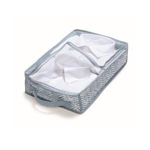 Niebieskie pudełko Cosatto Tweed, szerokość 26 cm