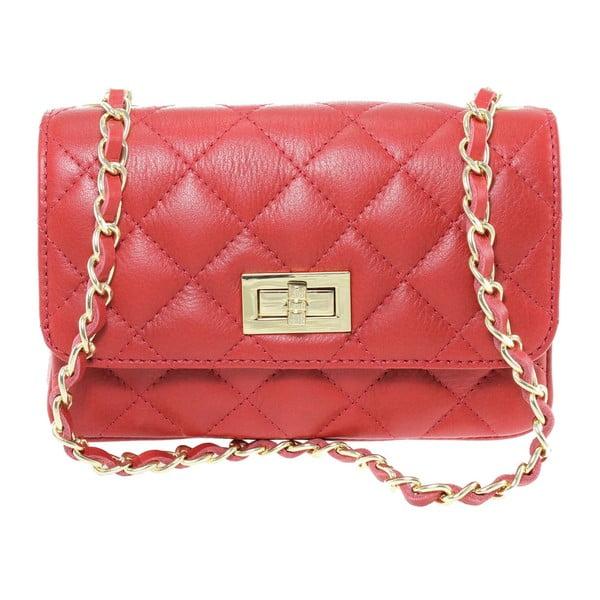 Czerwona torebka skórzana Cee Cee